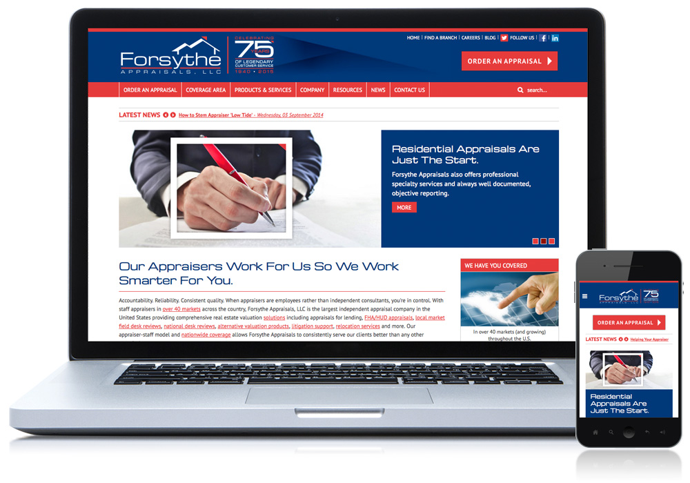 forsythe appraisals website