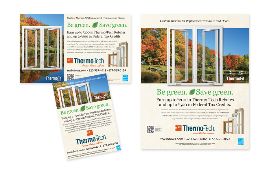 thermo tech green ads